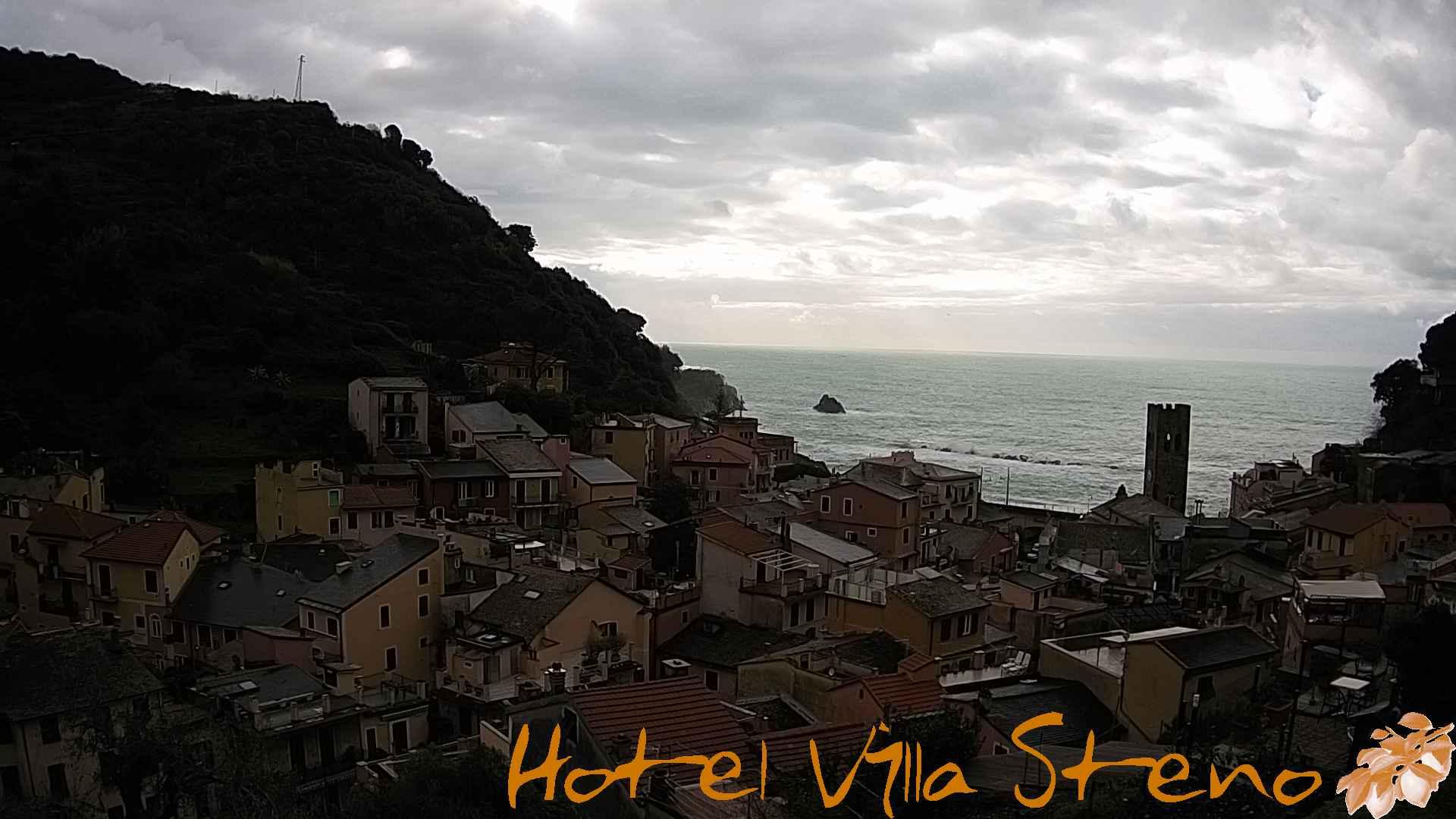 Webcam live Hotel Villa Steno - Monterosso al Mare - Cinque Terre - Italy